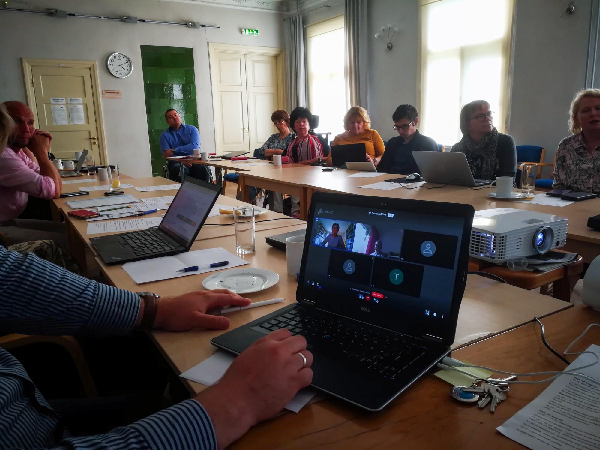Steering group meeting